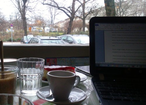 64. Cafe' Liebling, Raumerstrasse, Berlin