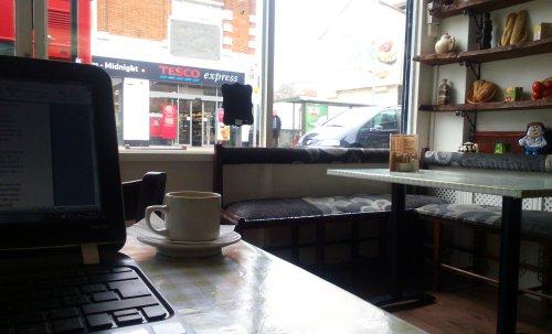 73. Oneda's Cafe, St. James's, E17