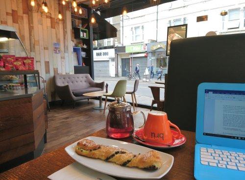 90. Bru Coffee & Gelato, Hoe St, E17