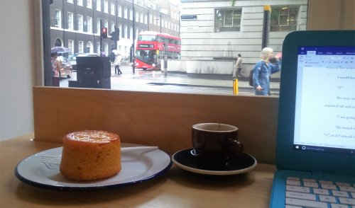 86. Waterstone's Cafe', Gower St, WC1