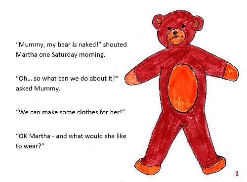 Teddy bear 1 page1