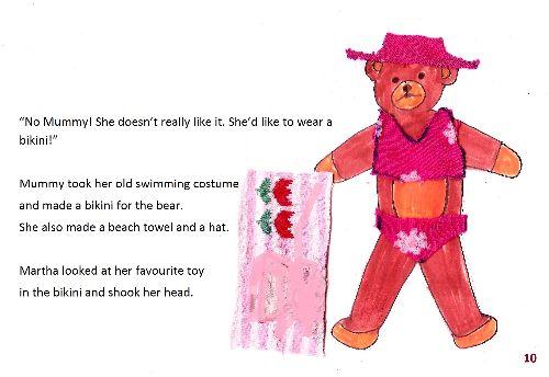 Teddy bear 1 page10