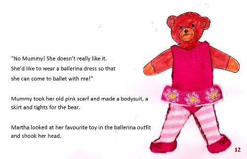 Teddy bear 1 page12