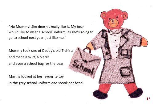 Teddy bear 1 page15
