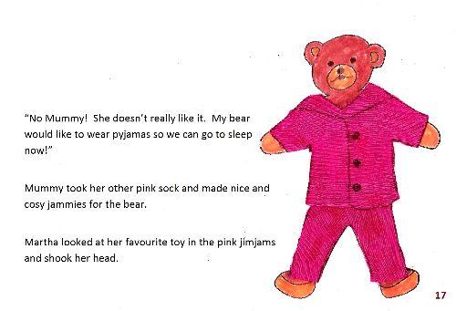 Teddy bear 1 page17