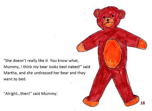 Teddy bear 1 page18