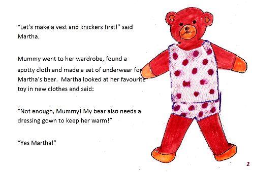 Teddy bear 1 page2