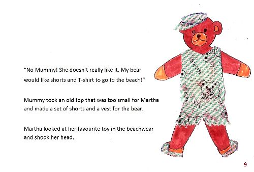 Teddy bear 1 page9