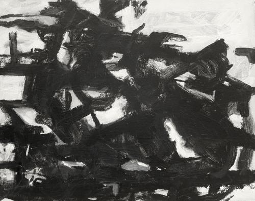 'Demolition (study)' (2005) Acrylic on canvas