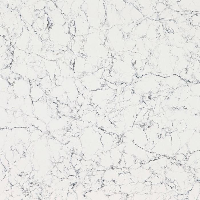 Caesarstone White Attica - 20mm & 30mm - Polished finish