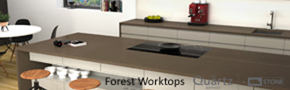 CRL Forest Quartz Kitchen Work Surfaces