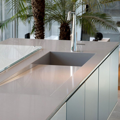Silestone Kensho Quartz Kitchen Surfaces