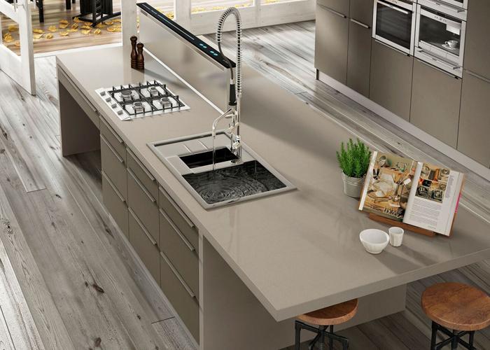 Silestone Rougui Quartz Kitchen Surfaces