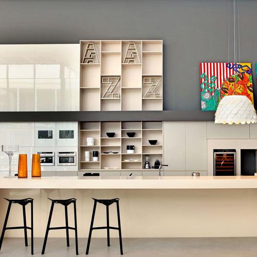 Kitchen Gallery Solihull: Silestone Tigris Sand Kitchen Work Surfaces: Miss Granite