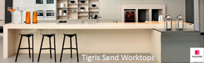 Silestone Tigris Sand Kitchen Surfaces