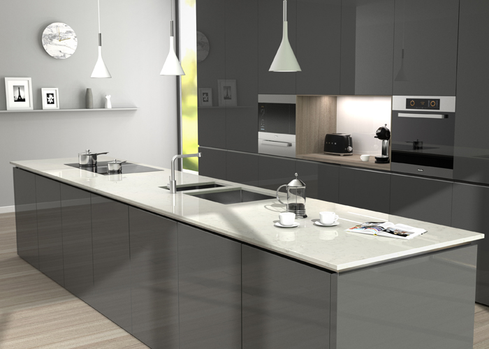 CRL Verona Quartz Kitchen Surfaces