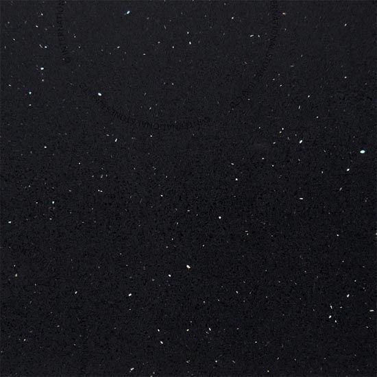 Black Galaxy IQ quartz - Sizes 20mm & 30mm - Polished finish