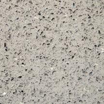 Grey Sparkle IQ quartz - Sizes 20mm & 30mm - Polished finish