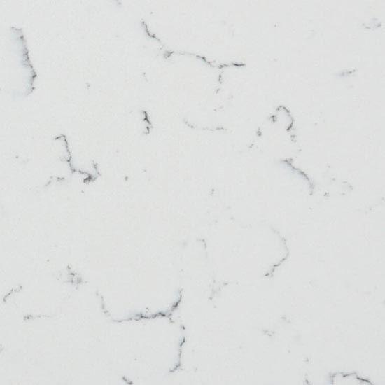 Luna White IQ quartz - Sizes 20mm & 30mm - Polished finish