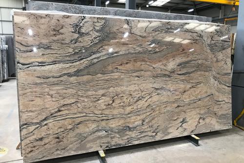 Prado Gold granite slab