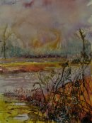 Across the water at Minsmere SOLD