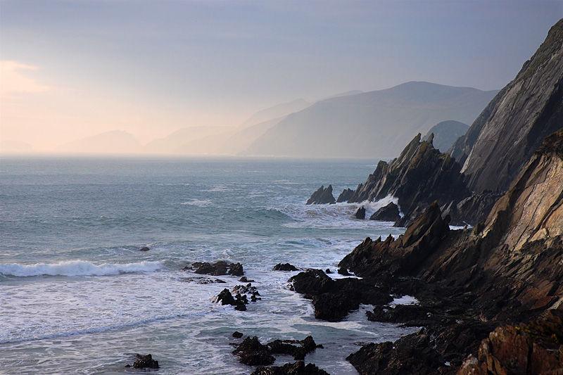 Dingle coastline, Ireland