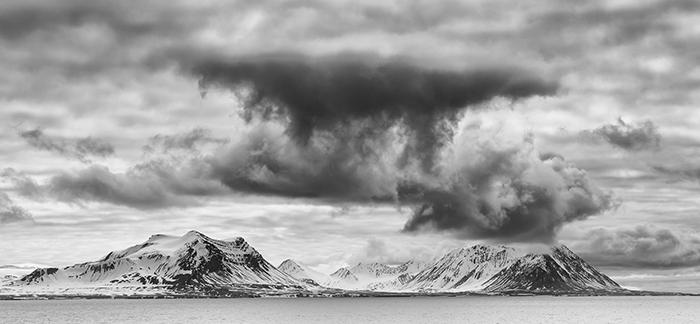 Svalbard B&W