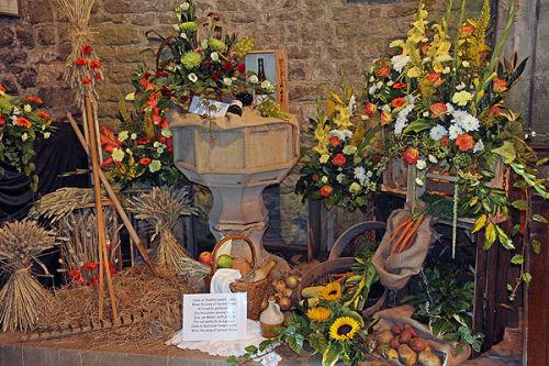 Harvest flower festival
