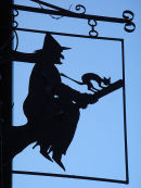Witch shop sign