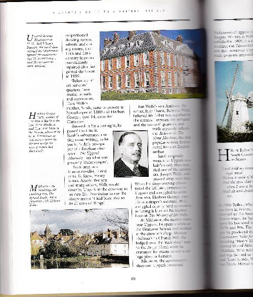 Photographs in Reader's Guide to Writers' Britain book 2