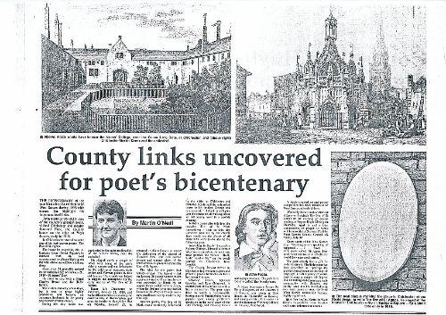 West Sussex Gazette newspaper feature 3