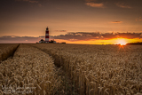 Happisburgh Lighthouse Sunset
