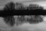 Sunset Reflections (mono)