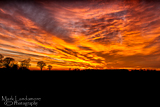 Norfolk Sky on Fire