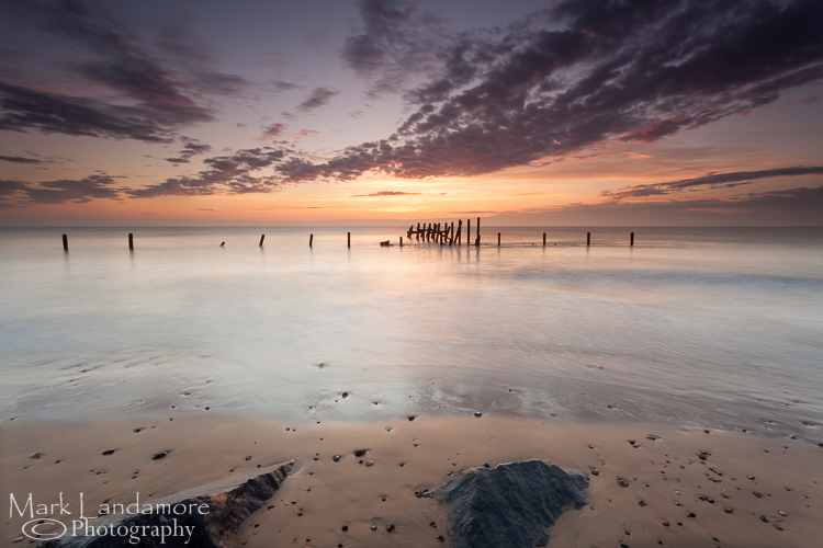 Solstice Sunrise at Happisburgh Beach