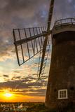 St Benets Windpump at sunset