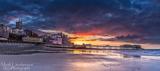 Cromer Pier under threatening skies