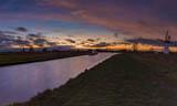 Thurne Sunset pano