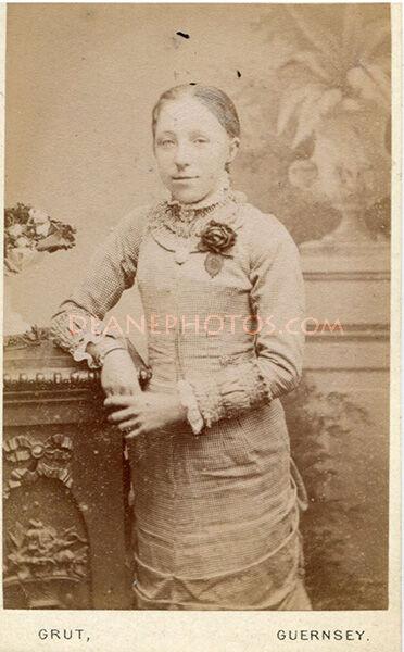 Labeled as Sarah daughter of John Dorey but could be Lavinia Dorey