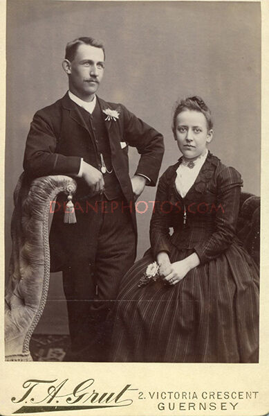 John Ernest Dorey & wife Mary Louise Mauger