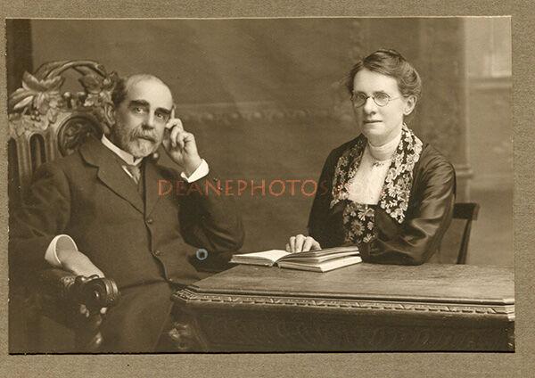 Richard Josiah Dorey & wife Alberta Victoria , (nee Baker) 1919