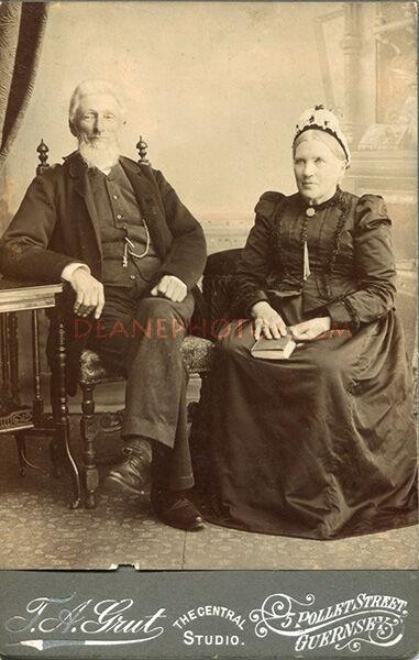 John Abraham Dorey & Rachel  Dorey (nee Le Conte)
