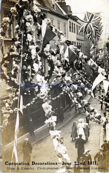 1911 June 22nd Coronation Decorations