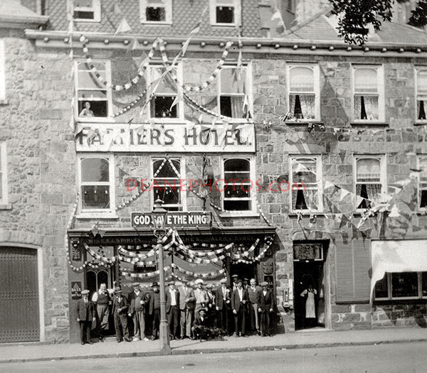 Farmer's Hotel owned by the Hughes