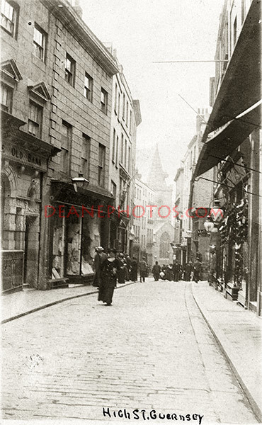 High Street St Peter Port 1907