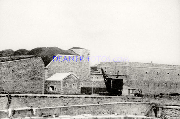 A Crane At the Harbour in the 1930's