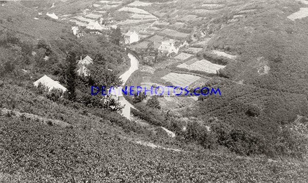 Terraced Fields & Road to Petit Bot Bay in the 1930's
