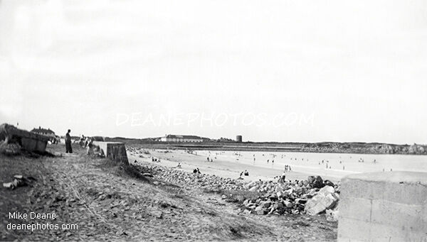 Lancresse opening in sea wall