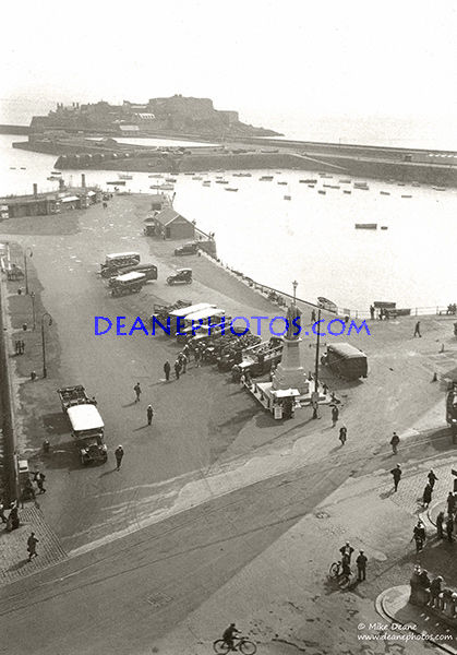 Albert Pier From the Town Church Tower 1920's/30's