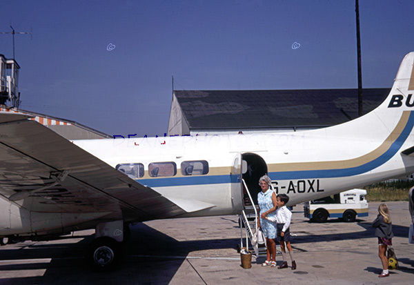 Alderney Airport in July 1969